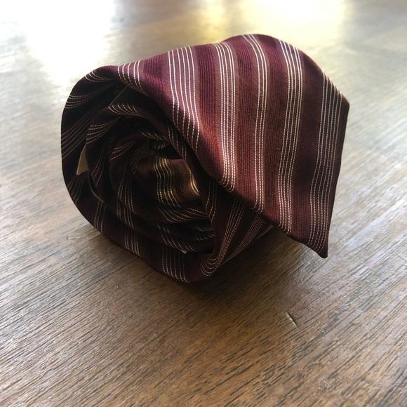 Giorgio Armani Other - Giorgio Armani Striped Silk Tie NWT